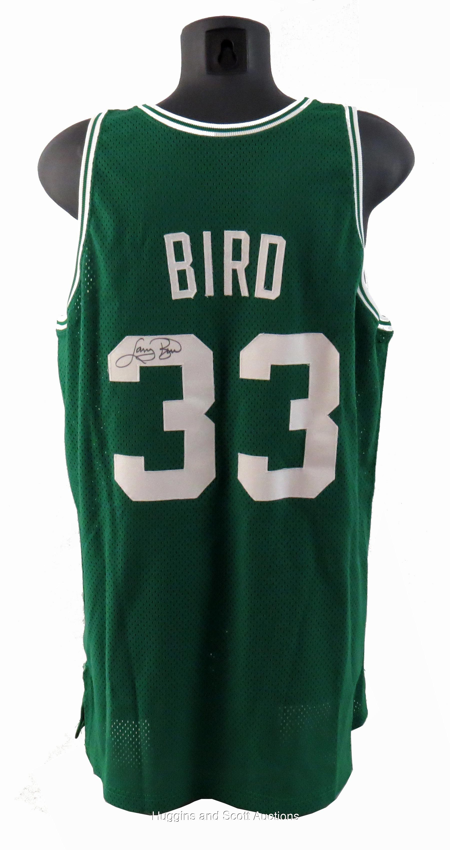 ee241a3ce76 Larry Bird 1991-92 Signed Game Worn Boston Celtics Road Jersey